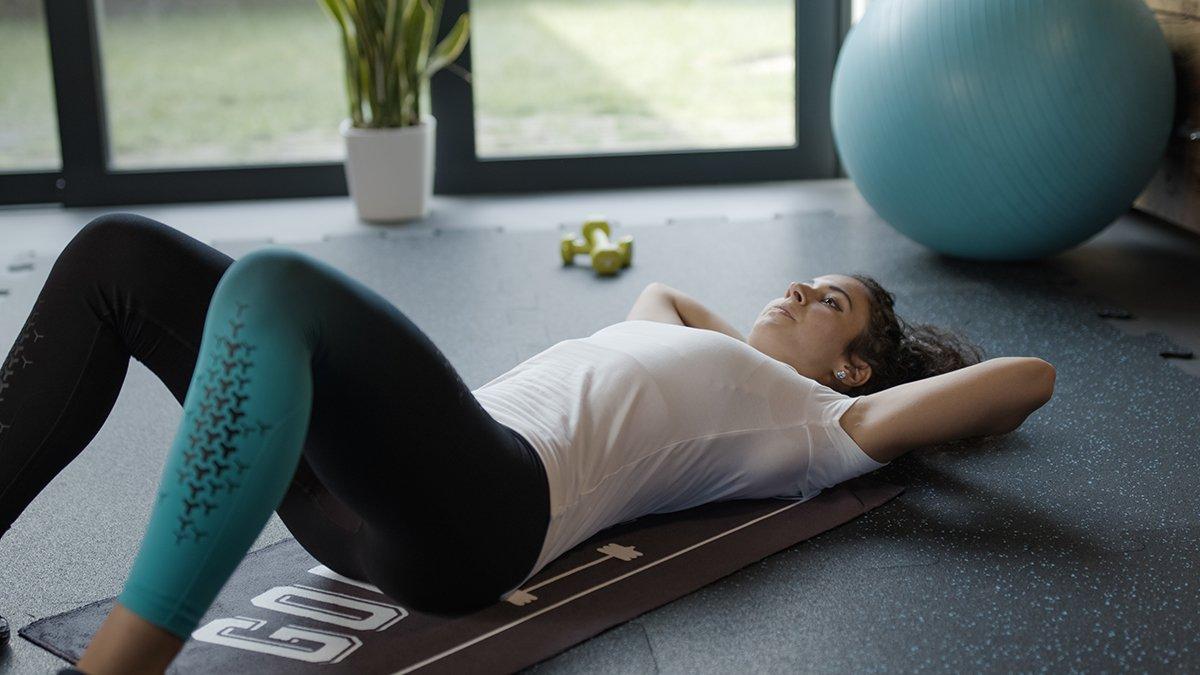Pavimentazione in gomma per Home Gym
