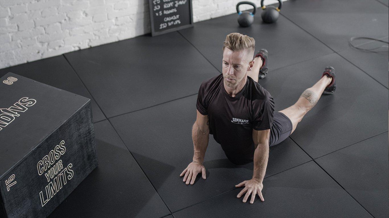 Pavimentazione in gomma per il fitness